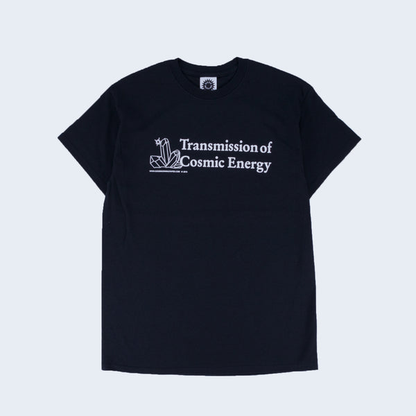 Good Morning Tapes Transmission Short Sleeve T-Shirt Black - Out Of Joint Records