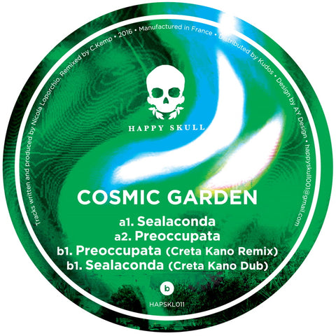 Cosmic Garden - Sealaconda Ep - Out Of Joint Records