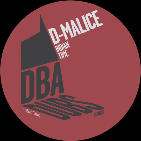D-Malice - Indian Time - Out Of Joint Records