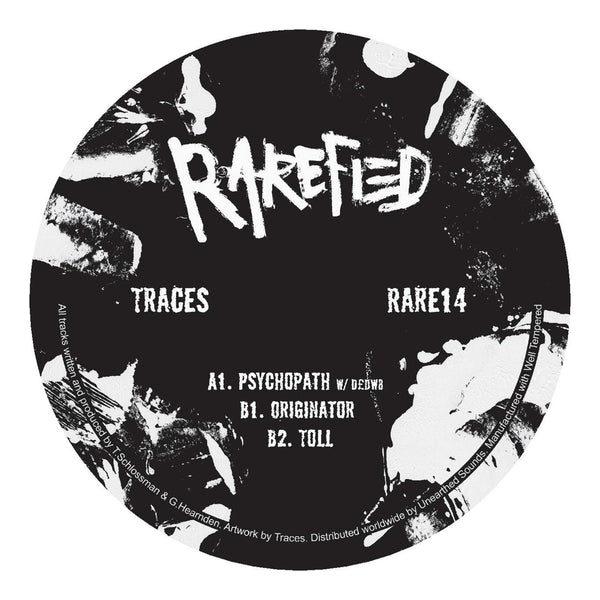Traces - Psychopath - Out Of Joint Records