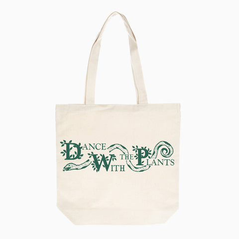 Good Morning Tapes Dance With The Plants Totebag Natural