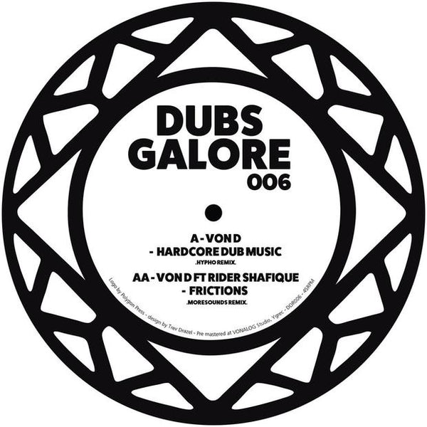Von D Feat. Rider Shafique - Dubs Galore Remixes - Out Of Joint Records