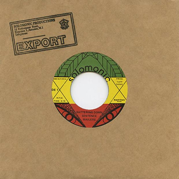 The Wailers - Battering Down Sentence - Out Of Joint Records