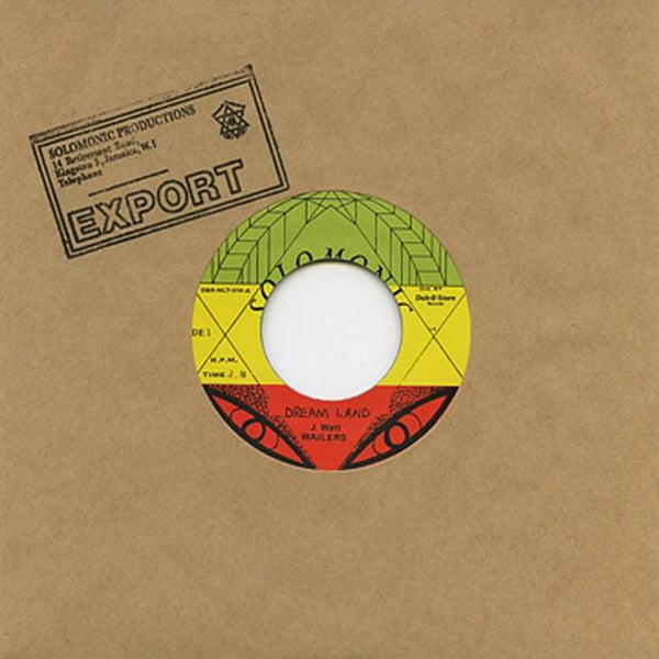 The Wailers - Dream Land / Dubd Version (feat. Bunny Wailer & Solomonic All Stars) - Out Of Joint Records