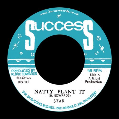 Star The Marshall – Natty Plant It - Out Of Joint Records