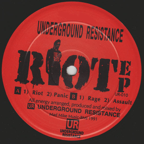 Underground Resistance - Riot EP - Out Of Joint Records