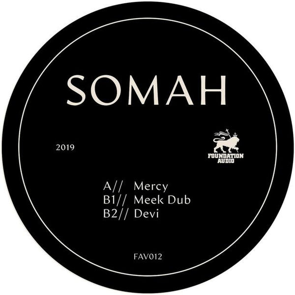 Somah - Mercy EP (Heavyweight Vinyl) - Out Of Joint Records