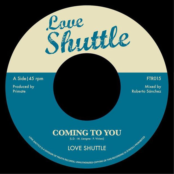 Love Shuttle - Coming To You / Gee Sugar - Lovers Boulevard - Out Of Joint Records