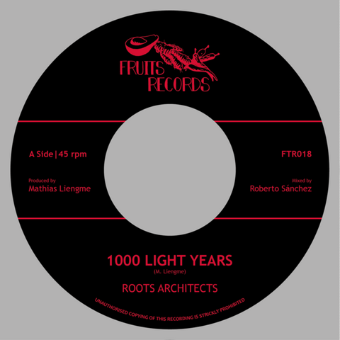 "Roots Architects - 1000 Light Years / 1000 Dub Years (7"" Vinyl)"