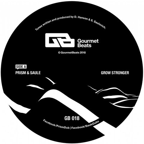 Prism & Saule - Grow Stronger EP - Out Of Joint Records