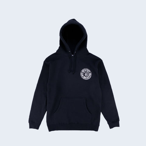 Good Morning Tapes Fergadelic Pullover Hooded Top Black - Out Of Joint Records