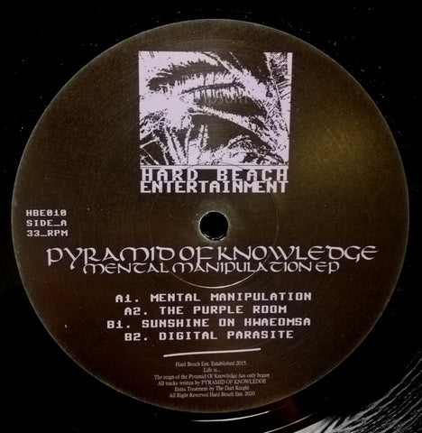 Pyramid Of Knowledge - Mental Manipulation EP - Out Of Joint Records