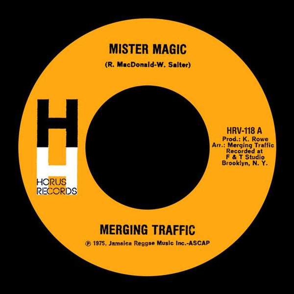 Mister Magic - Merging Traffic - Out Of Joint Records