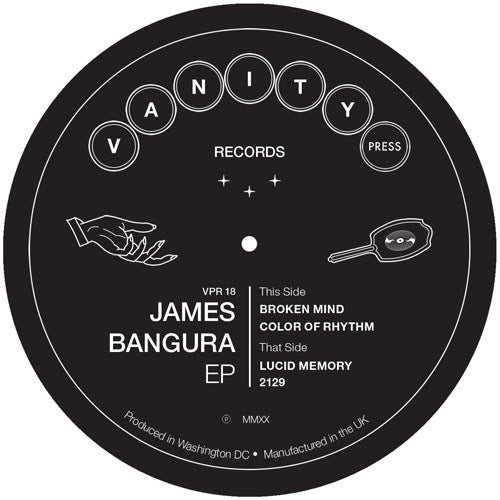 James Bangura - James Bangura EP - Out Of Joint Records