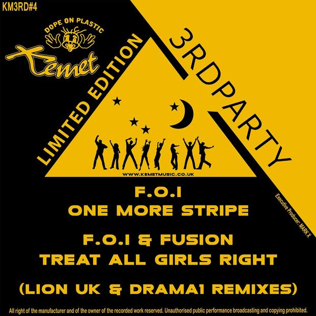 F.O.I & Fusion - One More Stripe / Treat all Girls Right (LionX & Drama1 Remixes)