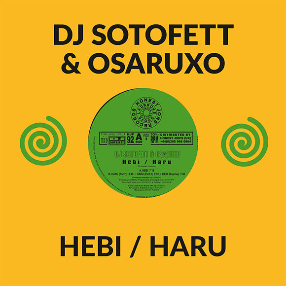 DJ Sotofett & Osaruxo - Hebi - Out Of Joint Records