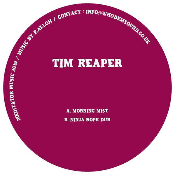 Tim Reaper - Morning Mist / Ninja Rope Dub - Out Of Joint Records