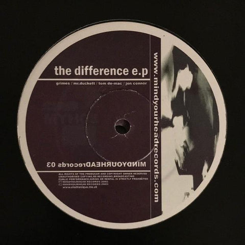 Various Artists - The Difference EP
