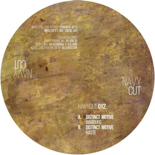 Distinct Motive -  Hamburg / Haste - Out Of Joint Records