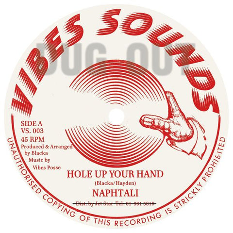 Naphtali - Hole Up Your Hand - Out Of Joint Records