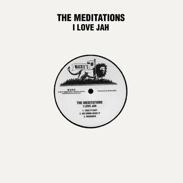 The Meditations - I Love Jah - Out Of Joint Records