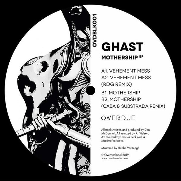 Ghast - Mothership EP (180g Vinyl / Incl Download Card) - Out Of Joint Records