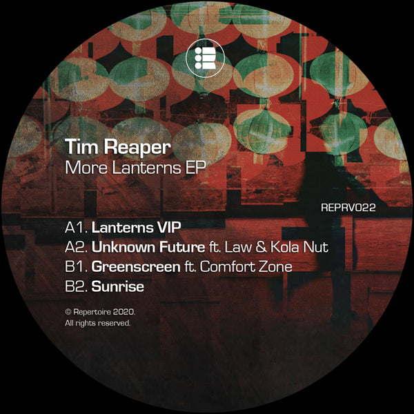 Tim Reaper - More Lanterns EP - Out Of Joint Records