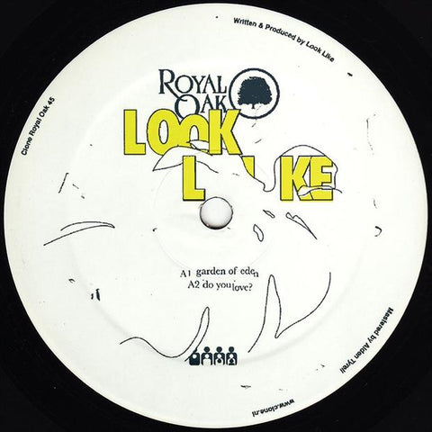 Look Like - Garden Of Eden - Out Of Joint Records