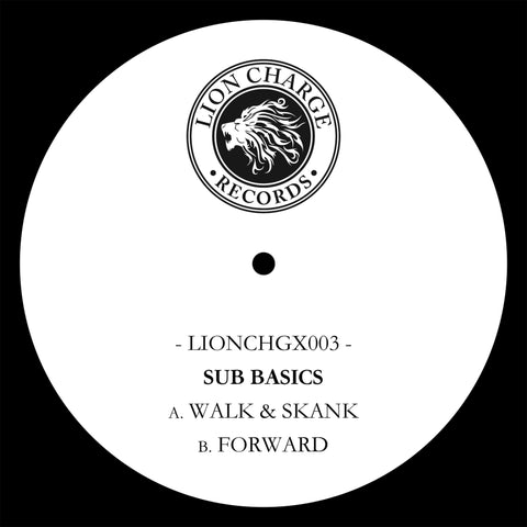 "Sub Basics - Walk & Skank / Forward (10"" Vinyl)"