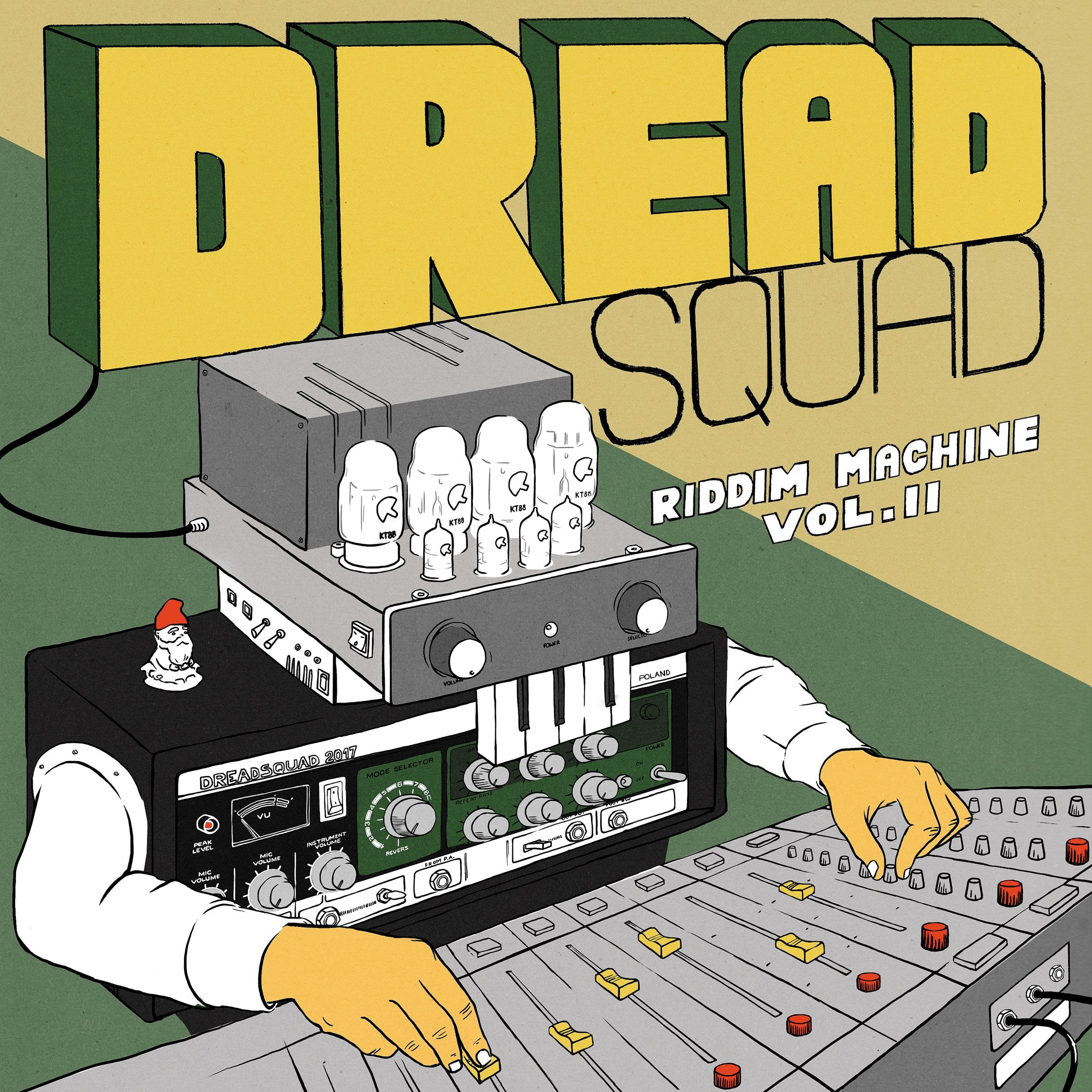 DREADSQUAD - Riddim Machine Vol. 2