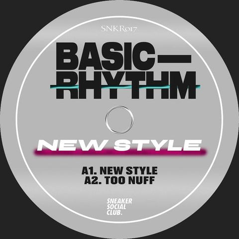 Basic Rhythm - New Style EP - Out Of Joint Records