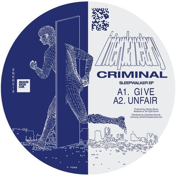 Interplanetary Criminal - Sleepwalker EP - Out Of Joint Records