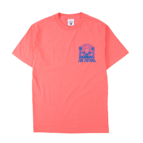 Out Of Joint The Future T-shirt Coral
