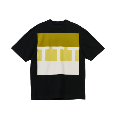 The Trilogy Tapes Block T-Shirt Black