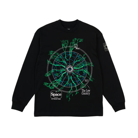The Trilogy Tapes Low Country Longsleeve Black