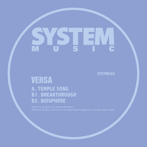 Versa - SYSTM030 (180g Vinyl) - Out Of Joint Records