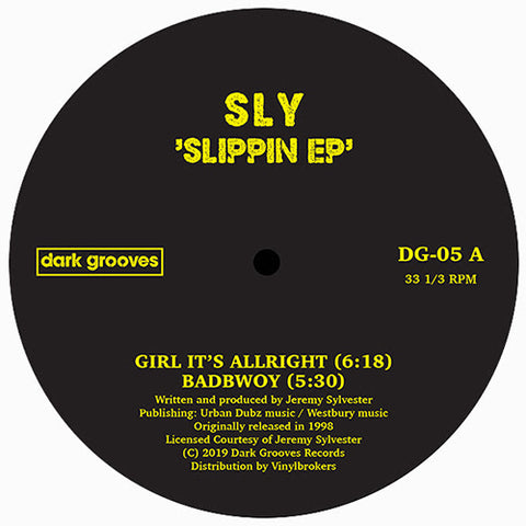 Sly - Slippin EP - Out Of Joint Records
