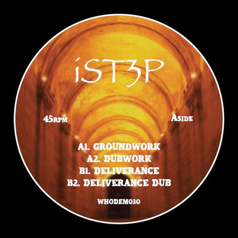 iSt3p - Groundwork EP - Out Of Joint Records
