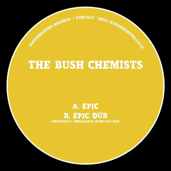 The Bush Chemists - Epic - Out Of Joint Records