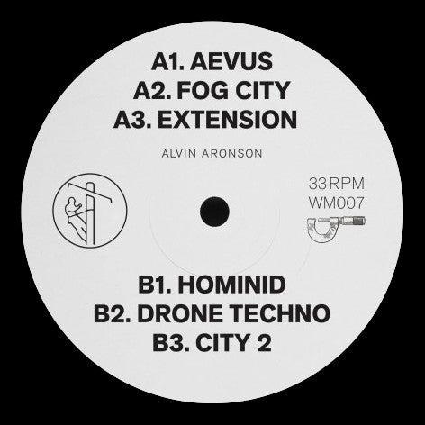 Alvin Aronson - Aevus - Out Of Joint Records
