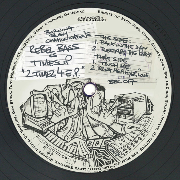 Rebel Bass vs Timeslip - 2 Timez 4 EP - Out Of Joint Records
