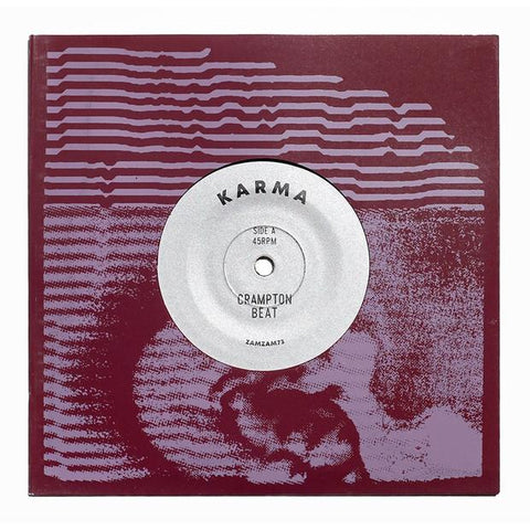 "Karma - Crampton Beat // Shortwave Step w/ G.Goodz (7"" Vinyl) - Out Of Joint Records"