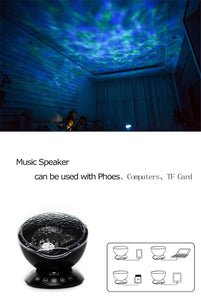 OCEAN WAVE LED LIGHT PROJECTOR