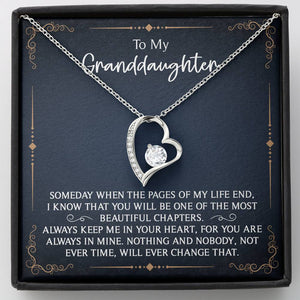 Granddaughter Necklace from Grandma, Granddaughter Gifts from Grandpa