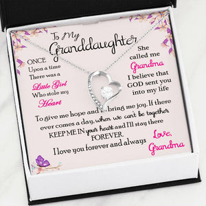 Forever Love Necklace: Best Gift for Granddaughter