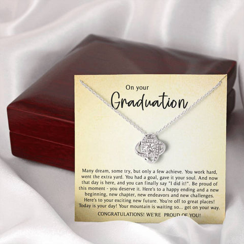 Graduation Necklace - Graduation Gifts for Daughter, College Graduation Gifts for Her
