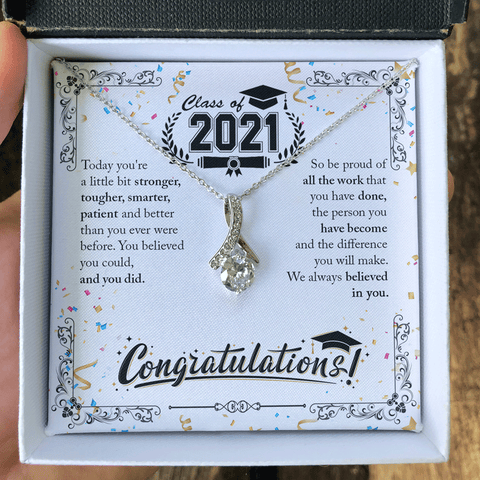 Graduation Necklace 2021, Graduation Gifts for Her, College Graduation Gifts, Graduation Jewelry