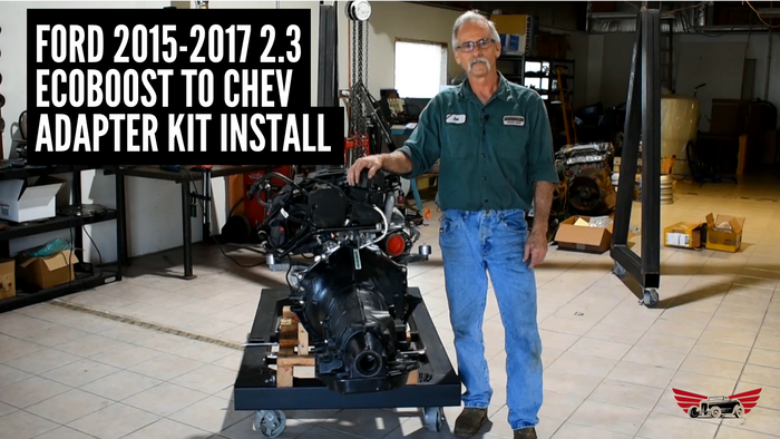 Ford 2015-2017 2.3L Ecoboost to Chev Adapter Kit Installation