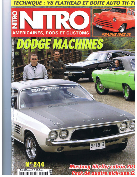 Nitro Magazine: March 2010 (Ford Flathead)