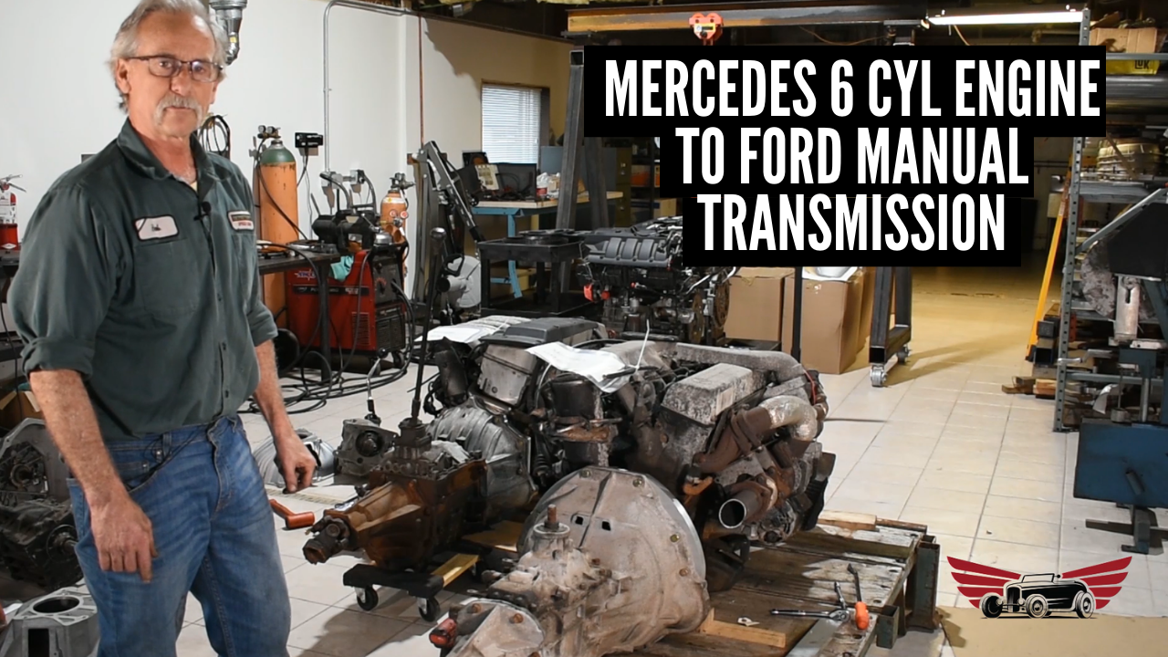 Mercedes 6 Cyl Engine to Ford Manual Transmission